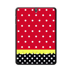 Red Black And Polka Dots Samsung Galaxy Tab S3 9.7 Case