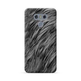 Black Feather LG G6 Case