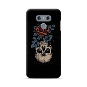 Rose And Skull LG G6 Case