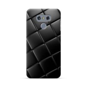 Black Leather Pattern LG G6 Case
