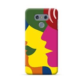 Colorful Faces LG G6 Case