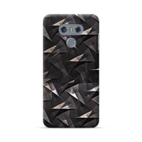 Black Gold Geometric LG G6 Case