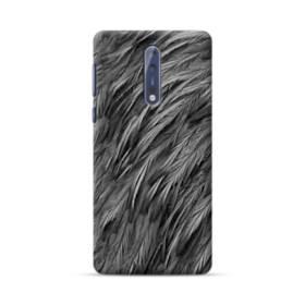 Black Feather Nokia 8 Case