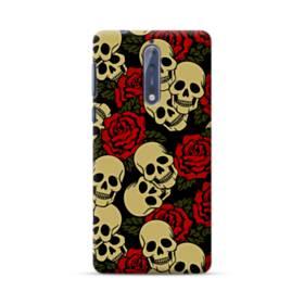 Rose Skulls Nokia 8 Case