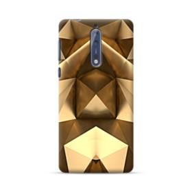 Gold Geometric Nokia 8 Case