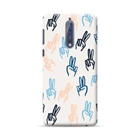 Hand Gesture Drawing  Nokia 8 Case