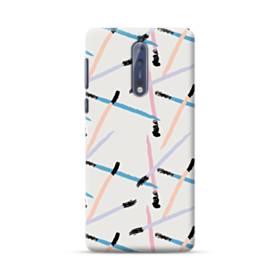 Abstract Matches Nokia 8 Case