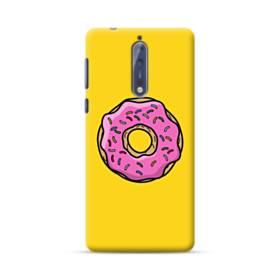Pink Donut Nokia 8 Case