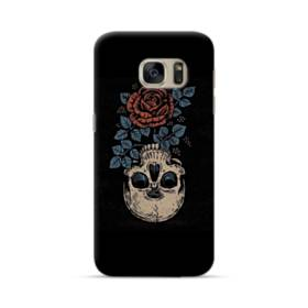 Rose And Skull Samsung Galaxy S7 Case