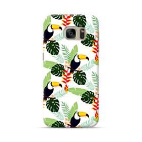 Tropical Garden Parrot Samsung Galaxy S7 Case