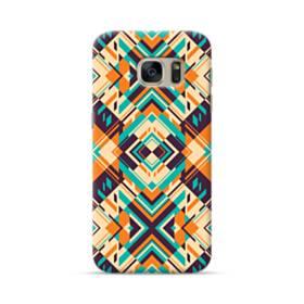 Digital Geometric Pattern Samsung Galaxy S7 Case