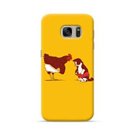 Chick And Cat Samsung Galaxy S7 Case