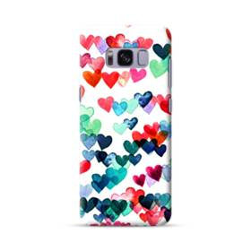 Heart Connections Watercolor Painting Samsung Galaxy S8 Case