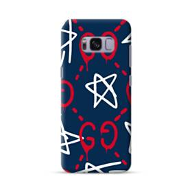 Stars Drawing Red White Samsung Galaxy S8 Case