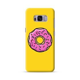 Pink Donut Samsung Galaxy S8 Case