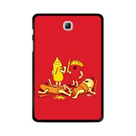 Fries And Hot Dogs Food Fight Samsung Galaxy Tab A 8.0 Case