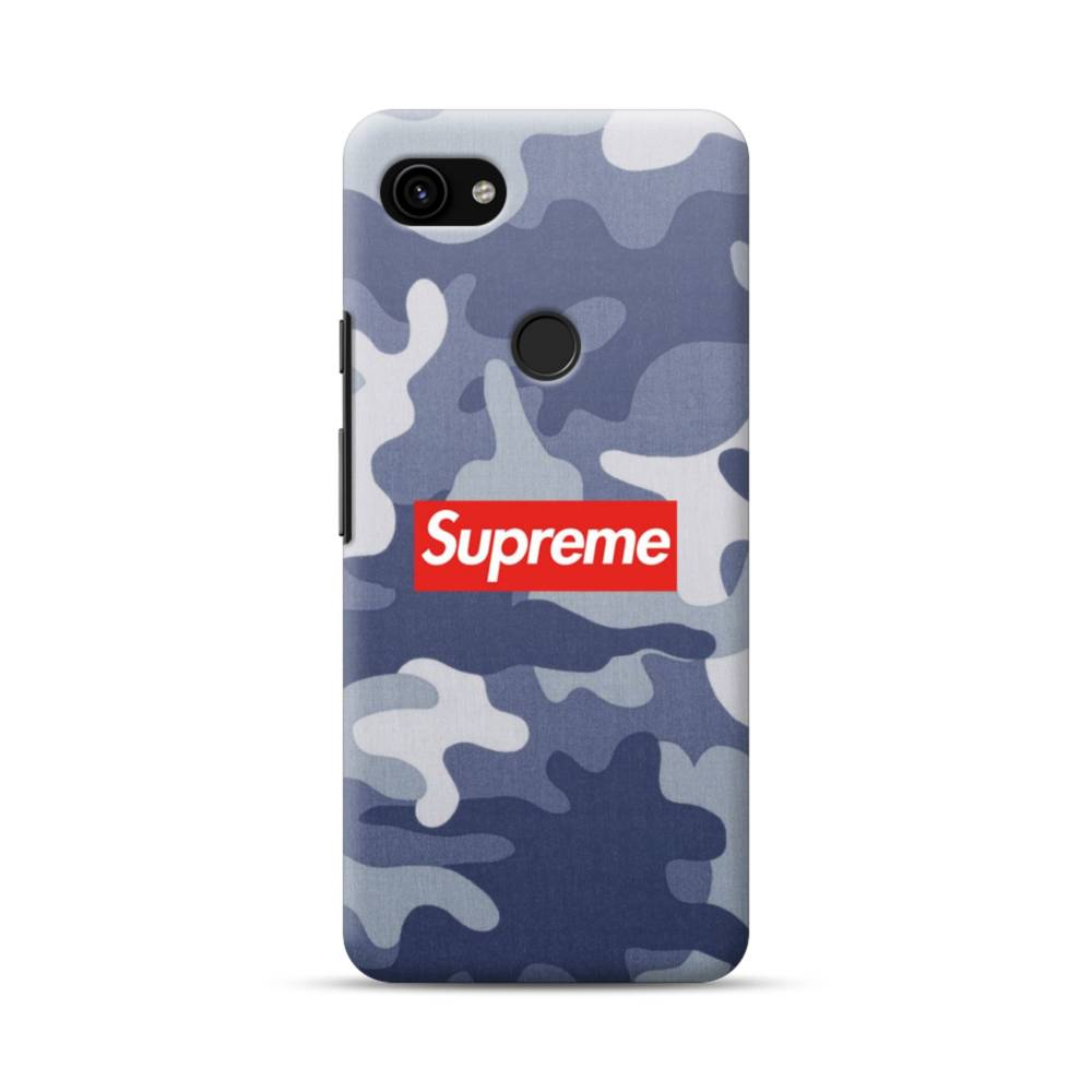 release date: get new sale usa online Supreme Navy Camo Google Pixel 3a Case | Case-Custom