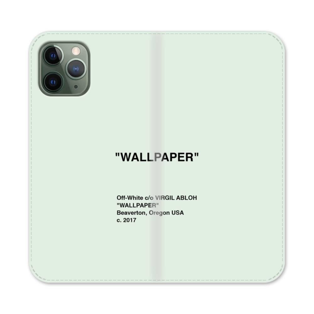 Wallpaper Minimalism Iphone 11 Pro Max Flip Case Case Custom