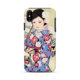 Japanese Girl iPhone XS Defender Case