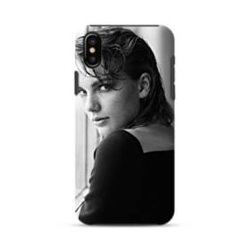 Taylor Swift Photo iPhone XS Defender Case