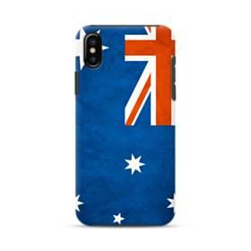 Australia Flag Grunge iPhone XS Max Defender Case
