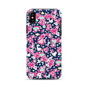 Candy Hearts iPhone XS Max Defender Case