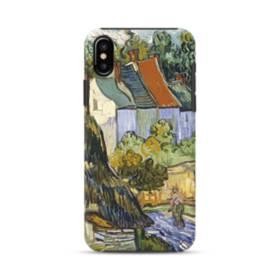 Van Gogh Houses In Auvers iPhone XS Max Defender Case