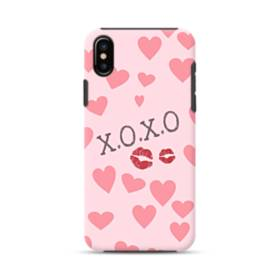 Hearts And Lips iPhone XS Max Defender Case