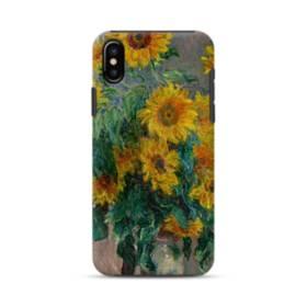 Claude Monet Sunflowers iPhone XS Max Defender Case