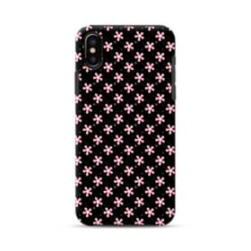Japanese Floral Pattern iPhone XS Max Defender Case