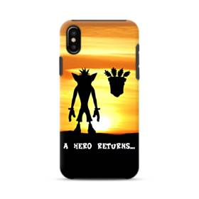 A Hero Returns iPhone XS Max Defender Case
