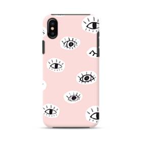 Eyes Blink iPhone XS Max Defender Case