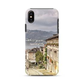 Italy Houses Orta San Giulio Street iPhone XS Max Defender Case