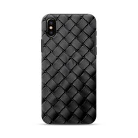 Weave Texture iPhone XS Max Defender Case