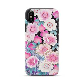 Japanese Flower iPhone XS Max Defender Case