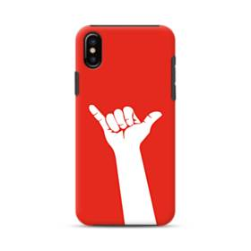 Hand Pose iPhone XS Max Defender Case