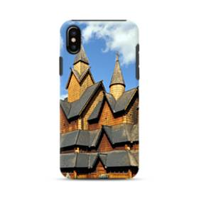 Norway Heddal Stave Church iPhone XS Max Defender Case