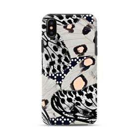 Butterfly Black And Gray iPhone XS Max Defender Case