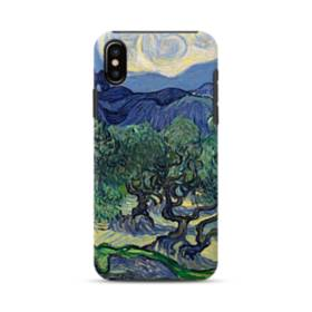 Van Gogh The Olive Trees iPhone XS Max Defender Case