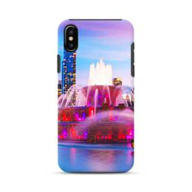 Fountains Light Show iPhone XS Max Defender Case