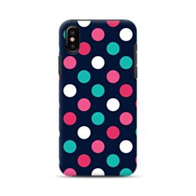 Colorful Polka Dots iPhone XS Max Defender Case