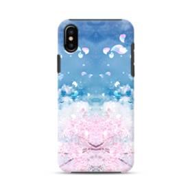 Sakura Petal iPhone XS Max Defender Case