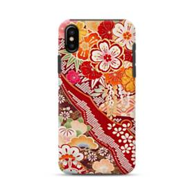 Vintage Flower iPhone XS Max Defender Case