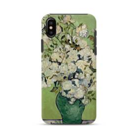 Van Gogh A Bottle Of White Roses iPhone XS Max Defender Case