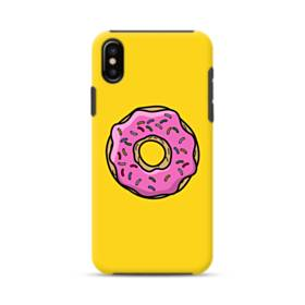 Pink Donut iPhone XS Max Defender Case