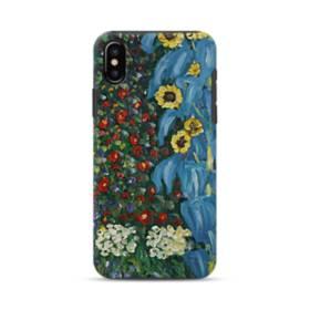 Farm Garden With Sunflowers By Gustav Klimt iPhone XS Max Defender Case