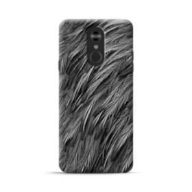 Black Feather LG Stylo 4 Case