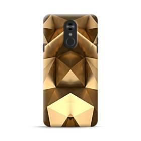 Gold Geometric LG Stylo 4 Case