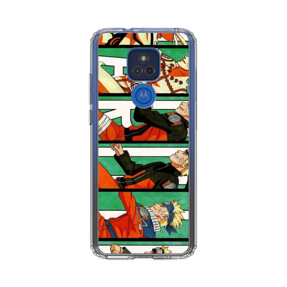 Naruto Evolution Motorola Moto G Play (2021) Clear Case | Case Custom
