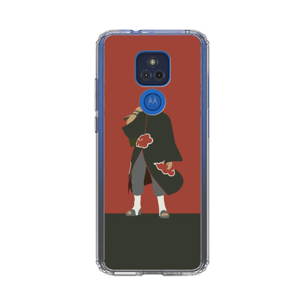 Naruto Red Motorola Moto G Play (2021) Clear Case | Case Custom